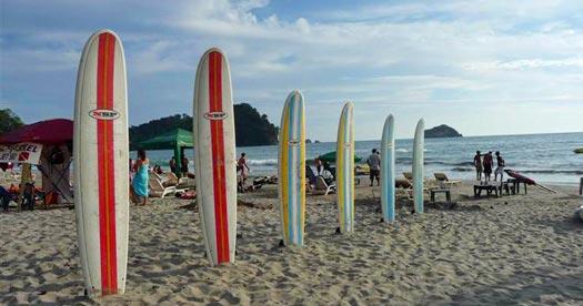 Costa Rica reizen: surfen
