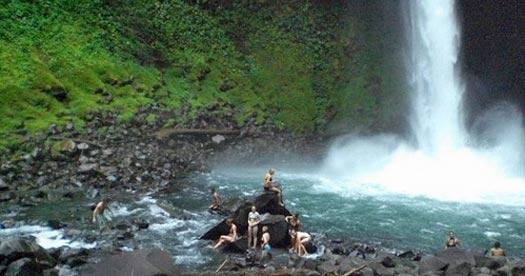 Reizen Costa Rica - waterval
