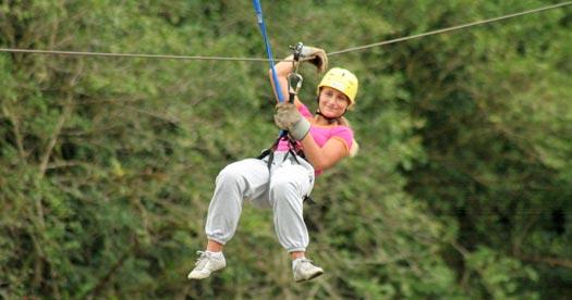 Zipline tijdens je Costa Rica reis