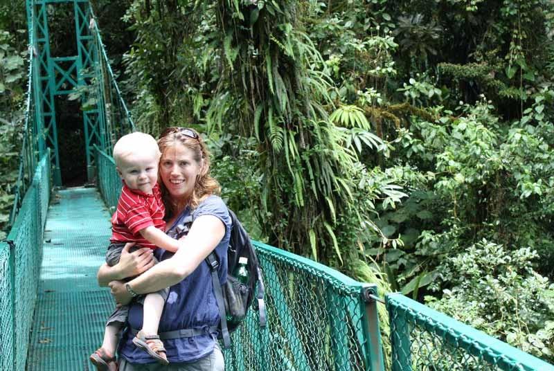gezondheid Costa Rica - hangbrug