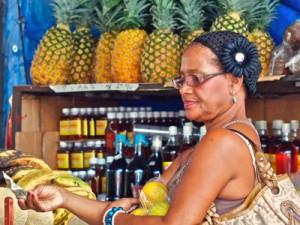 Cahuita Costa Rica Kids - lokale vrouw