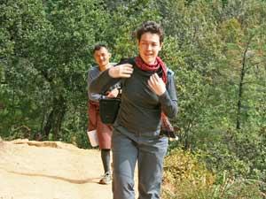 bhutan hike tigersnest
