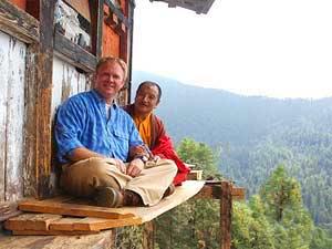 bhutan india monnik