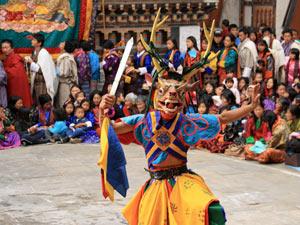 bhutan reizen - mongar festival