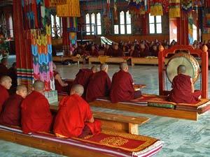 bhutan monniken