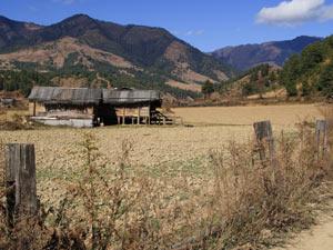 bhutan platteland