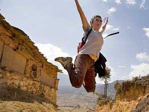 Bhutan reizen - sprong