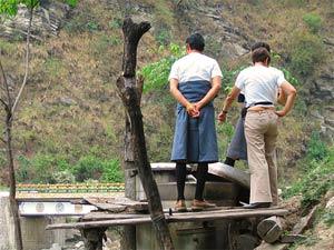 bhutan india trashigang gids
