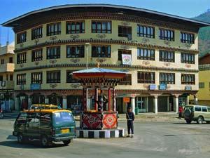 bhutan verkeerslicht