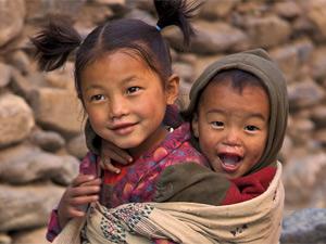 bhutan nepal community kids