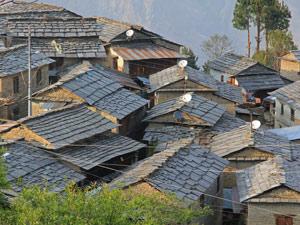 nepal community trek tikot
