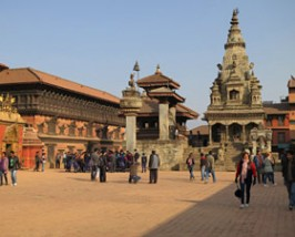 kathmandu straatbeeld