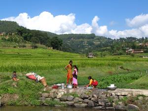 bhutan nepal kathmandu vallei