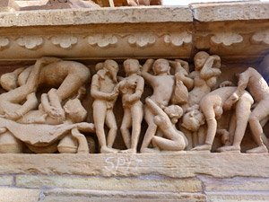 india khajuraho tempels kamasutra