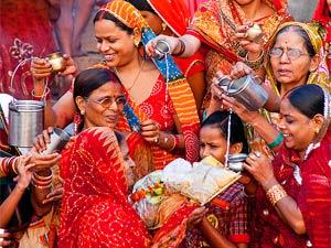 bhutan india varanasi vrouw