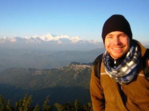 bhutan india zonsopgang darjeeling
