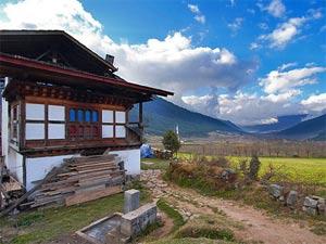 bhutan india boerderij