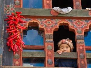 bhutan india meisje