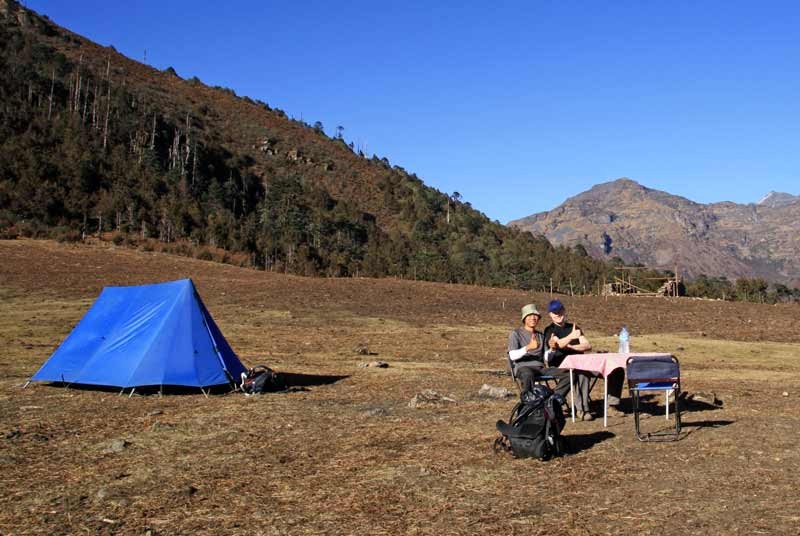 Kamperen tijdens je Bhutan reis