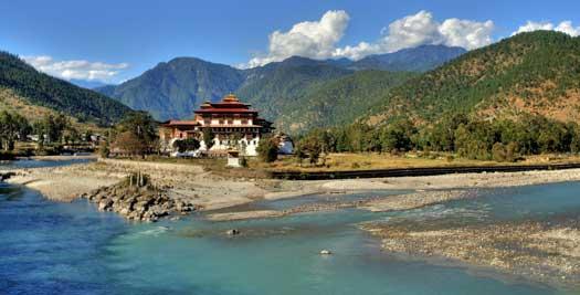 Rondreizen Bhutan - Punakha