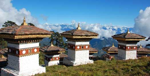 Reis Bhutan - Dochulapas