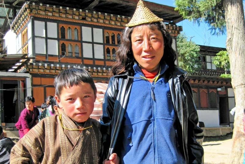 Ontmoet de bevolking in Bhutan