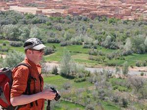 Dades vallei Marokko Kids - wandeling