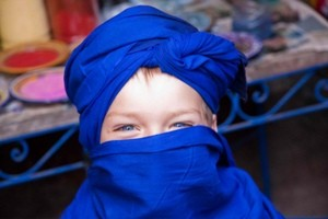 marokko jongen sluier