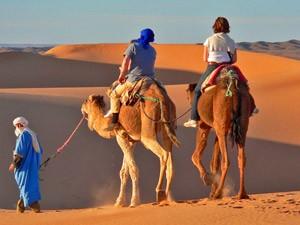Marokko met kinderen - kamelentocht
