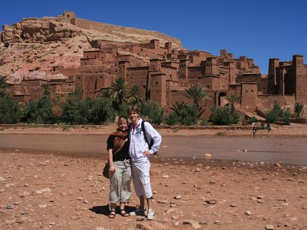 Atlasgebergte Marokko Kids - Ait Benhaddou
