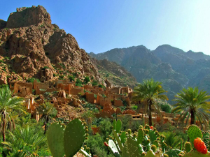 wandelen verborgen palmvallei Marokko Kids - Tafaoute
