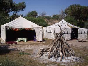 bivak tenten Essaouira