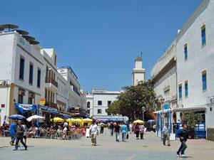 Marokko familiereis - Essaouira plein