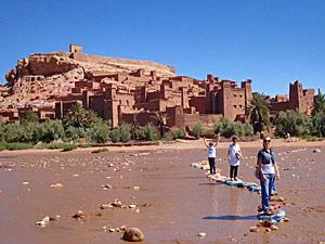 Marokko familiereis - kasbah Ait Benhaddou