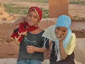 kasbah Marokko locals
