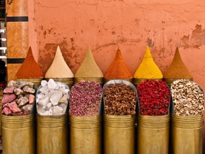 Marokko zomervakantie kids - specerijen