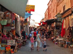 medina Marrakech met kinderen