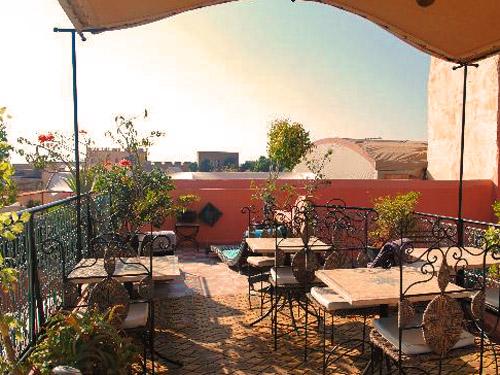 Special stay Marokko Kids - riad Marrakech dakterras