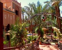 Upgrade Zagora Marokko Kids - riad tuin