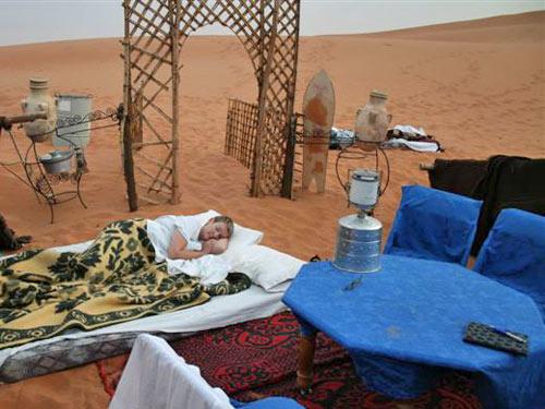 woestijn bedbuiten