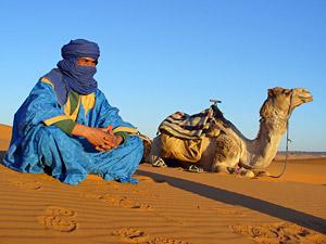 8 dagen Marokko Kids - woestijn kameel en Marokkaan
