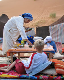woestijn kamp