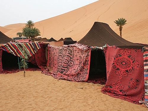 woestijn tent