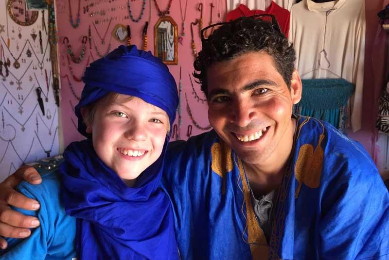 Local - vakantie Marokko