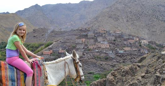 Marokko reis met kinderen - Atlas