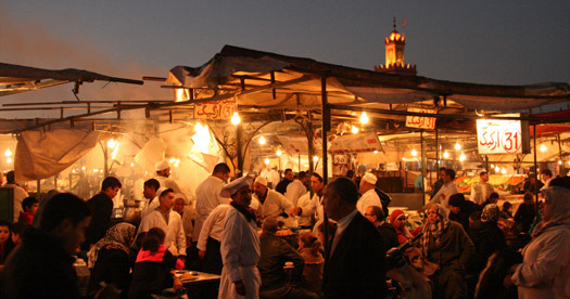 BBQ - reis marokko