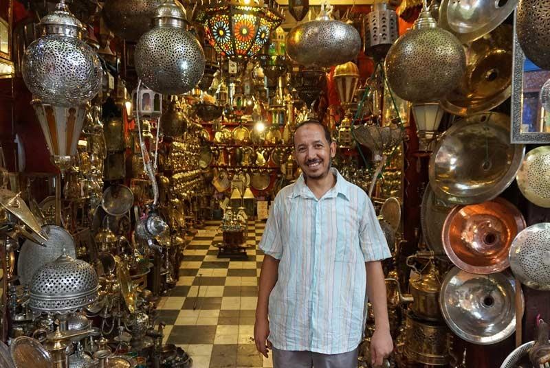 Marokko reizen - shops