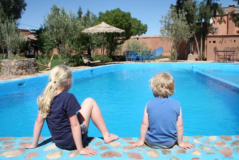 Zwembad- Marokko vakantie