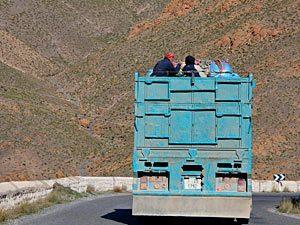 Marokko onderweg