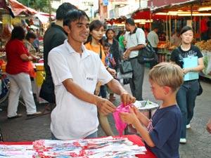 familiereis maleisie chinatown